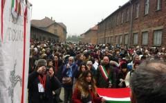 Diario da Auschwitz 2015: capelli rasati, occhiali, valige dei deportati. Gli studenti toscani osservano in silenzio (VIDEO)