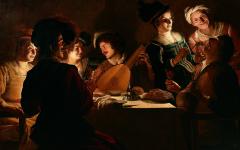 Firenze: Gherardo delle Notti per la prima volta al mondo in una mostra agli Uffizi.