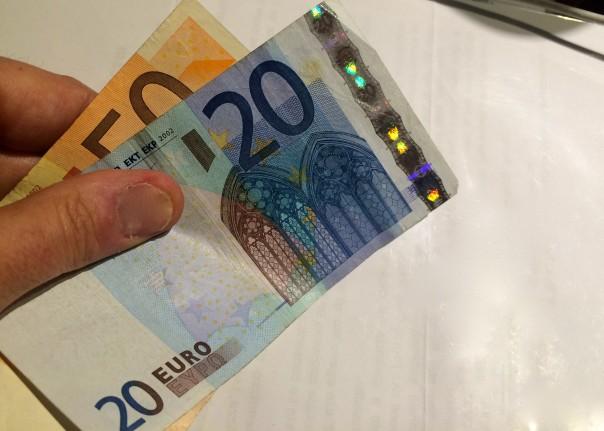 Attenzione alle banconote da 20 euro