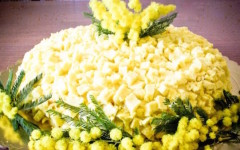 Una mimosa tutta dolce per l'8 marzo