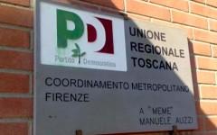 La sede del Pd a Firenze