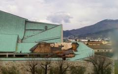 Maltempo, Firenze: scoperchiata dal vento la chiesa di Michelucci sull'autostrada A1, dedicata a San Giovanni Battista
