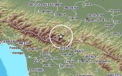 Appennino pistoiese: scosse di terremoto nella notte