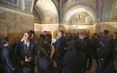 Viaggio a Ravenna, tra cultura e impresa, per i cadetti della scuola militare Douhet