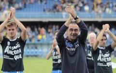 Empoli raggiunto nel finale dalla Sampdoria: 1-1. Applausi per Sarri, insidiato anche dalla Fiorentina. Pagelle