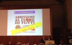 Un momento del 33° Congresso del Lions LA 108 Toscana