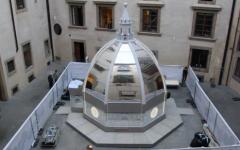 I_Dome la cupola hi-tech nel cortile di Palazzo Vecchio