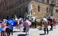 Firenze caldo: anche domani, 12 luglio,  codice rosso, con temperature oltre i 40 gradi