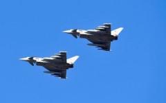 Grosseto, Aeronautica militare: aereo sospetto in volo sul Tirreno intercettato da due Eurofighter
