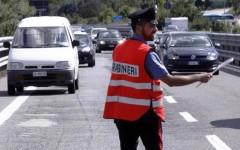 Strada statale Siena-Grosseto: chiusa in parte per una frana di massi