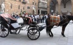 Firenze: animalisti in piazza contro le carrozze a cavalli. 15 mila firme al sindaco Nardella