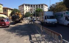 Firenze: Piazza delle Cure lavori in ritardo, nonostante le promesse. Replica del Comune, tutto regolare