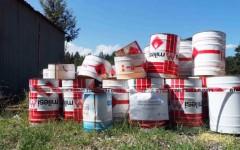 Arezzo, rifiuti pericolosi in ditta. Bruciati illegalmente in un vecchio inceneritore