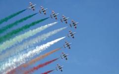 Frecce Tricolori: acrobazie in diretta streaming nel 55° anniversario della Pattuglia Acrobatica Nazionale (Video-Foto)