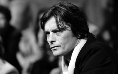 Alain Delon, French actor. About 1980