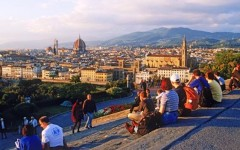 Firenze, piazzale Michelangelo pedonalizzato dal 14 febbraio 2016: al via i lavori