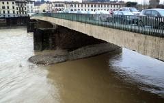 Firenze, Ponte Vespucci chiuso lunedì 8 febbraio 2016 dalle 9 alle 17