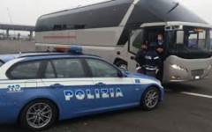 Firenze: autista del bus non riposa, la polstrada lo multa e gli ritira la patente