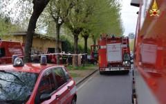 Sesto Fiorentino, incendio in casa: donna di 89 anni e badante di 65 salvate dai vigili fuoco