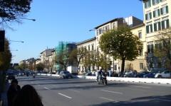 Firenze, tramvia: nuove soluzioni per il traffico, tre corsie in viale Lavagnini verso il viale Strozzi