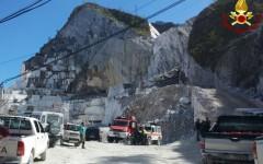 Massa Carrara, cavatori morti: tre indagati nell'inchiesta della procura. Sabato 16 aprile lutto cittadino