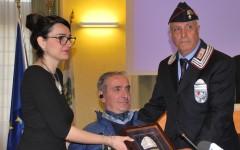 Prato: al brigadiere Giangrande medaglia d'oro della provincia
