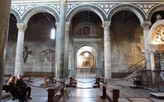 Firenze: la musica di Mad Emoiselle Sarabande per il restauro dell'acquasantiera nella cappella del Cardinale a San Miniato al Monte