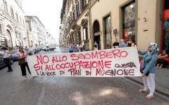 Firenze: il Comune chiude con un avanzo di 40 milioni. Il movimento di lotta per la casa: usateli per l'emergenza casa