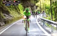 Giro d'Italia, Cividale del Friuli: allo spagnolo Mikel Nieve il successo, Andrey Amador nuova maglia rosa