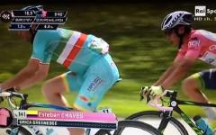Giro d'Italia, a S. Anna di Vinadio uno straordinario Vincenzo Nibali conquista la maglia rosa. La tappa a Rein Taaramae