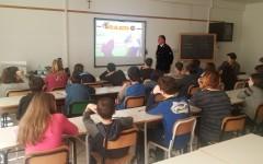 Lucca: studenti delle scuole a lezione dalla polizia stradale
