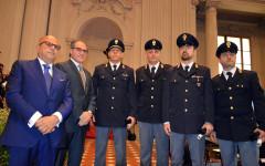 Firenze, Festa della polizia: efficace l'attività di contrasto, con il calo di delitti (-7,2%), in particolare furti (-9,7%) e rapine (-21,1...