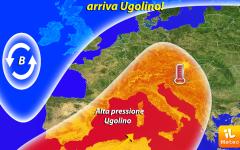 Meteo: arriva l'anticiclone Ugolino, porterà caldo africano, anche in Toscana, a partire da domenica 22 maggio