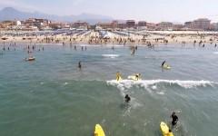 Viareggio, Fossa dell'Abate: divieto di balneazione (temporaneo) a causa delle forti piogge
