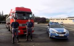Chiusi: camionista arrestato dalla Polstrada con l'accusa di traffico illegale di combustibile ed evasione fiscale