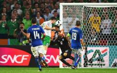 Euro2016: Italia battuta e messa sotto dall'Irlanda (1-0). Si salva Bernardeschi. E ora la Spagna. Pagelle (Foto)