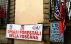 Operai forestali: dopo il presidio l'Assessore Remaschi promette uno stanziamento di 3 milioni di euro