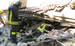 Terremoto: morto Filippo Sanna, 23 anni, dopo una settimana d'agonia. Salva la sua famiglia