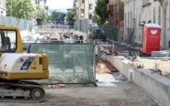 Firenze, tramvia: mercoledì 26 e giovedì 27 aprile chiusa via Corridoni. Si posano i binari