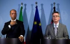 Profughi: Alfano, la Germania ne accoglierà qualche centinaio. Incontro con il ministro - De Maizière al meeting di Cl