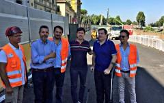 Firenze Tramvia: verrà inaugurato l'8 dicembre il sottopasso Milton-Strozzi alla Fortezza