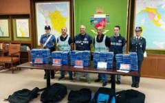 Maxisequestro: 134 chili di cocaina. Tre arresti. Operazione della Guardia di Finanza di Pisa e dei Carabinieri di Livorno