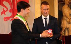 Batistuta cittadino onorario di Firenze: la cerimonia in Palazzo Vecchio (20 anni dopo la prima proposta)