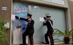 Castiglioncello: centro di massaggi, gestito da cinesi, sequestrato dai carabinieri.