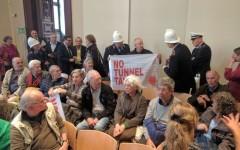 Firenze: il Comitato No tunnel Tav contesta Nardella e la manifestazione dei si Tav