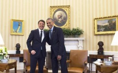 Washington: Renzi, con folta delegazione, in visita a Obama. Uno spot per il governo