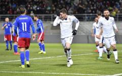 L'Italia vince (0-4) nel Liechtenstein, ma segna solo nel primo tempo. Bernardeschi in tribuna (perché?). Pagelle. Classifica