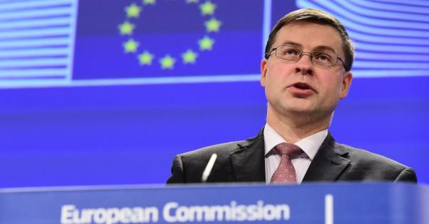 Manovra: Dombrovskis (Ue) invita a cambiarla radicalmente. Goldman Sachs, dal 2019 recessione