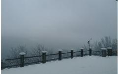 Maltempo in Toscana: neve su tutti i passi appenninici