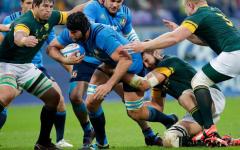 Rugby: l'Italia fa l'impresa a Firenze battendo il Sudafrica (20-18). Dopo 12 sconfitte (Foto)